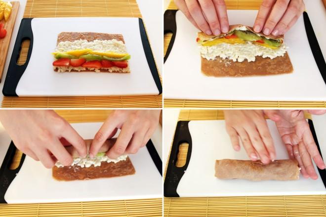Sushi dulce de arroz con leche receta cooking experiences for Como hacer arroz para sushi