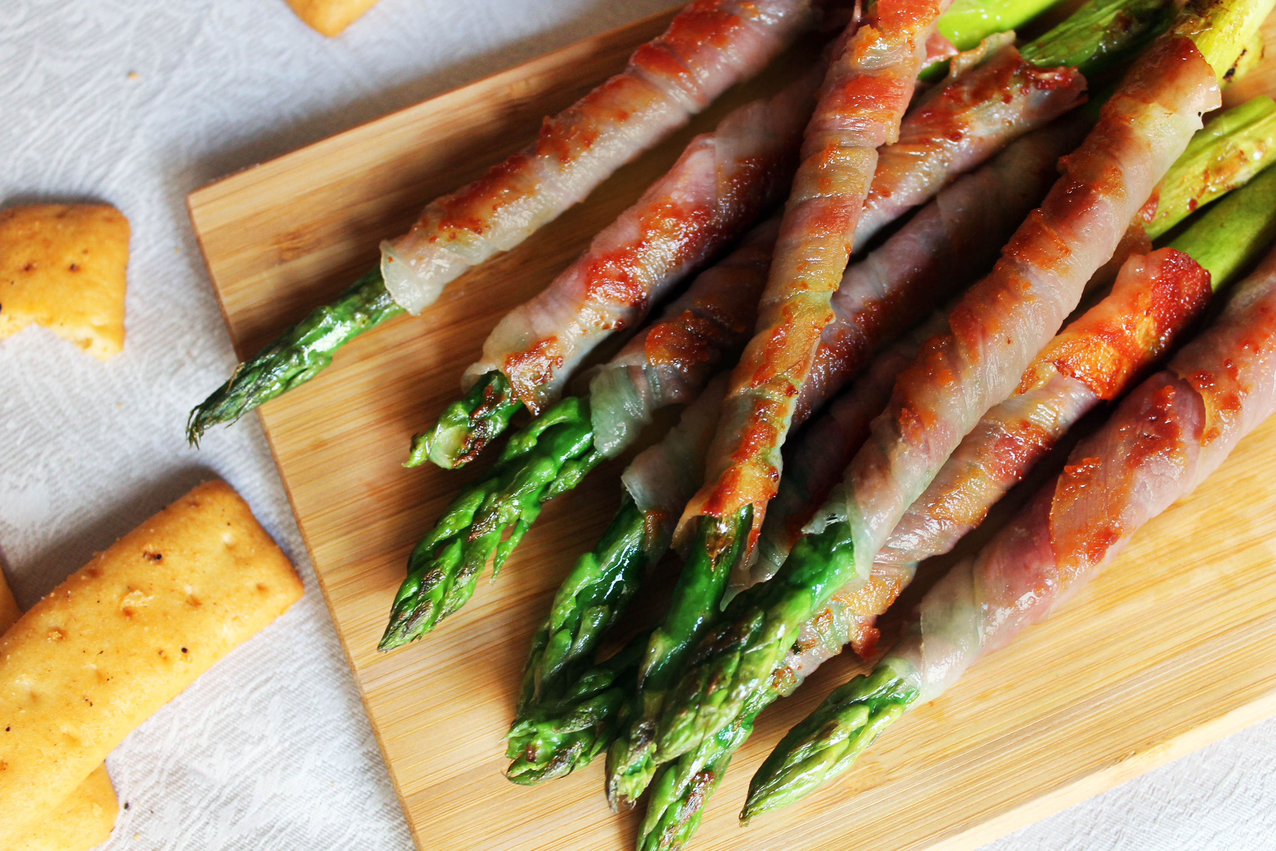 Esparragos Con Jamon Serrano Esparragos-con-jamon-receta