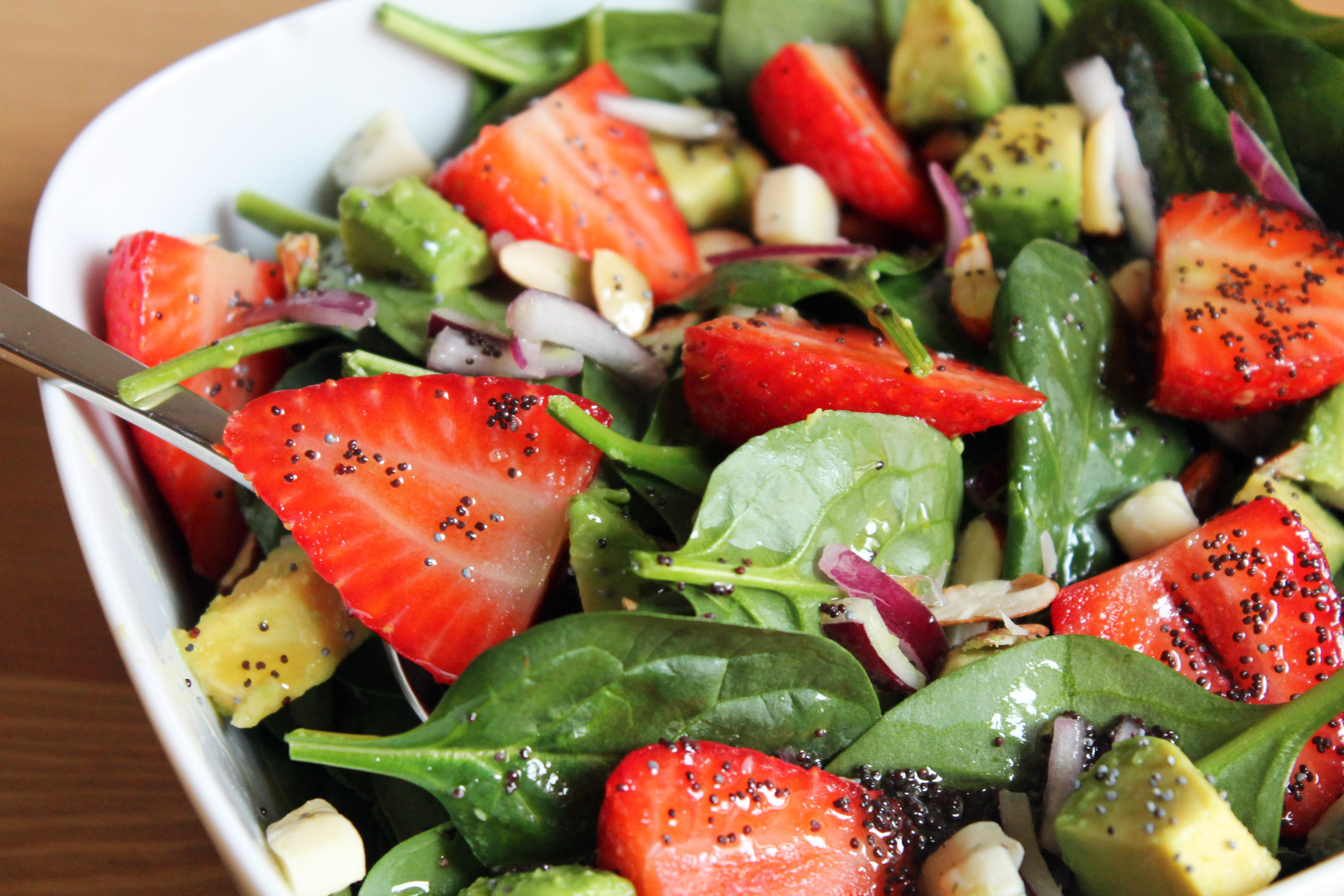 recetas de ensaladas con semillas
