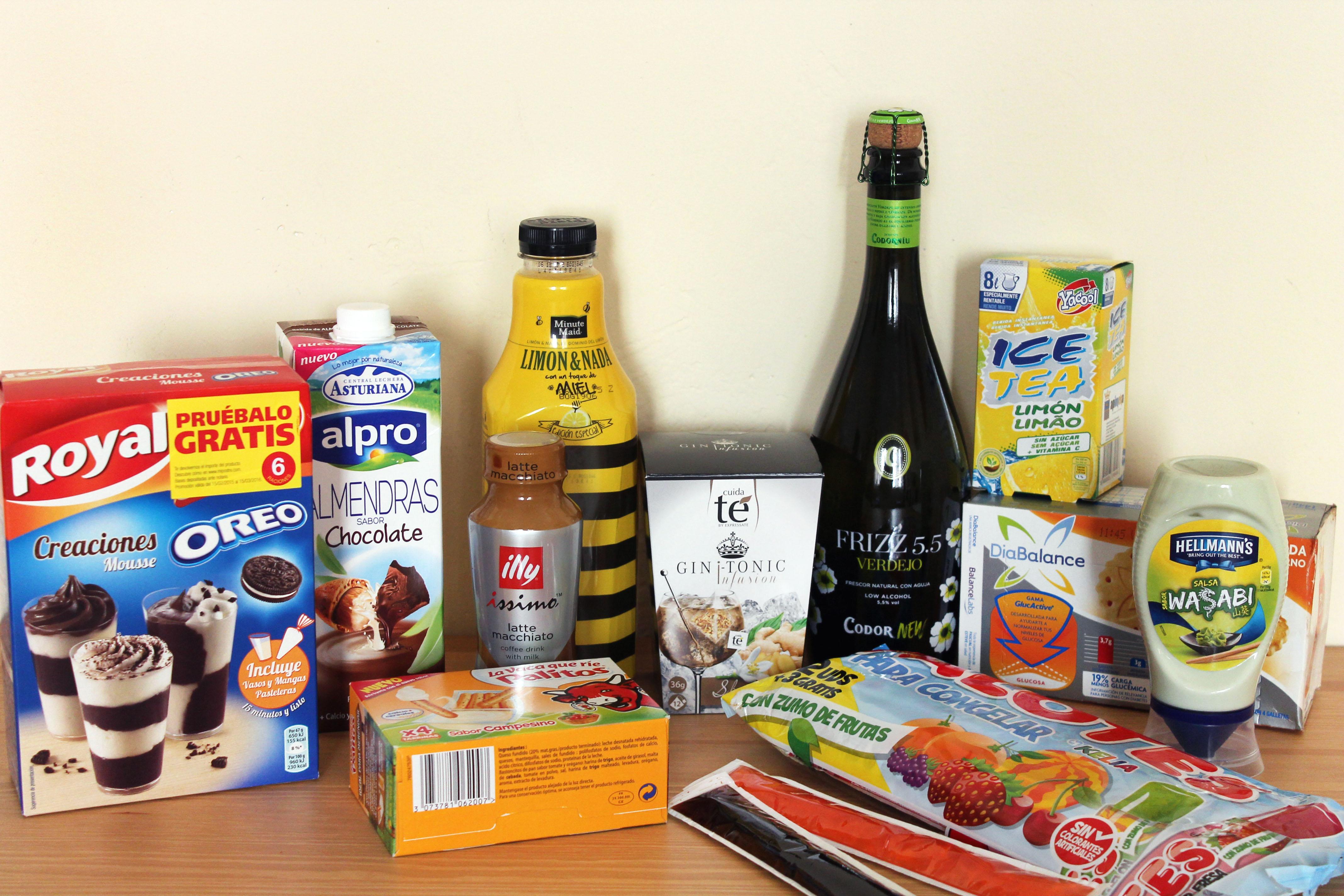 Degustabox productos de marca directos a casa probamos una de las cajas cooking experiences - Articulos de casa ...
